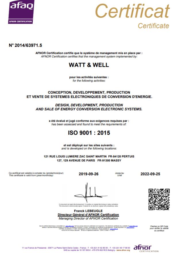 Hi Rel & Quality Assurance_Certificat ISO 9001